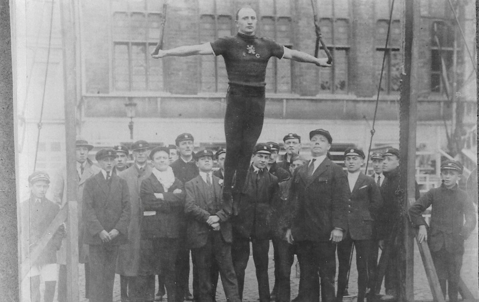 100 jaar Spelen van Antwerpen: de zilveren Belgische turners