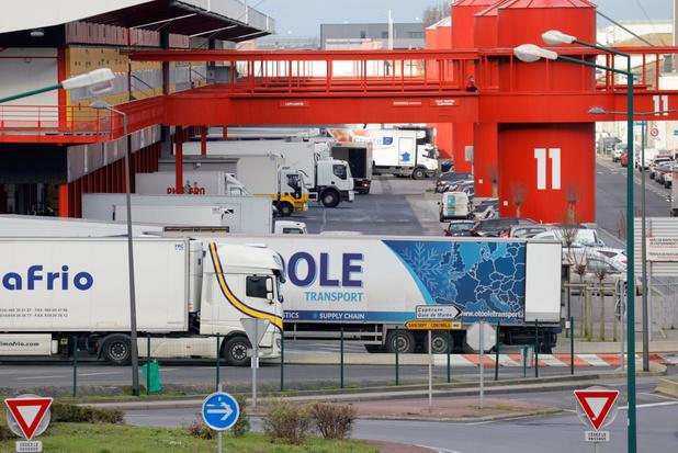 Handel tussen België met Verenigd Koninkrijk gekelderd in januari
