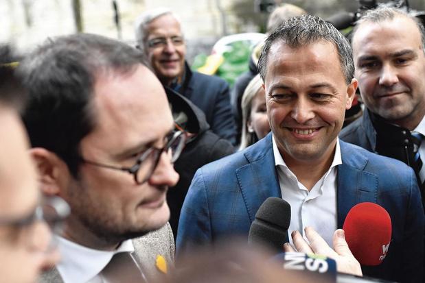 Kandidaat-voorzitter Egbert Lachaert: 'Ik wil van de Open VLD geen rechts clubje maken'