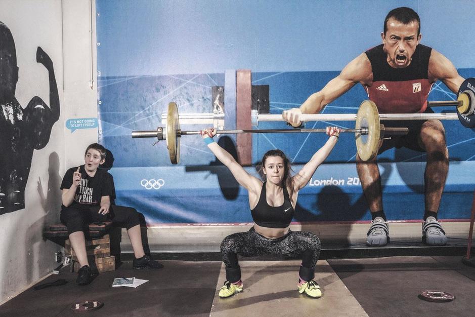 Nina Sterckx, hoogbegaafde gewichthefster op weg naar de top: 'Het draait om lenigheid'