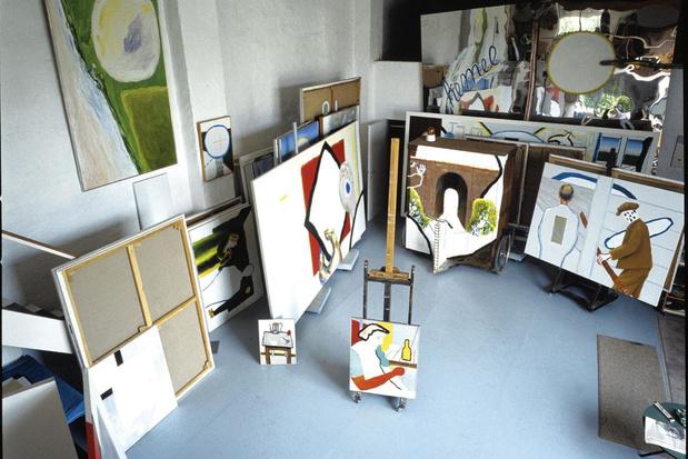 L'artiste flamand Raveel mis à l'honneur à Machelen-aan-de-Leie