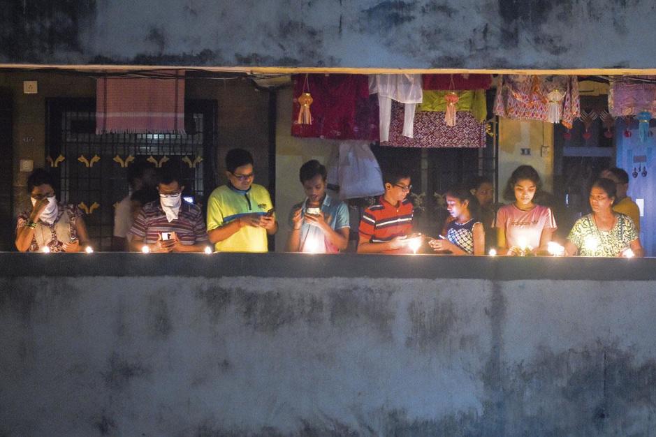 Indiase premier Narendra Modi kijkt aan tegen 1 à 2 miljoen doden