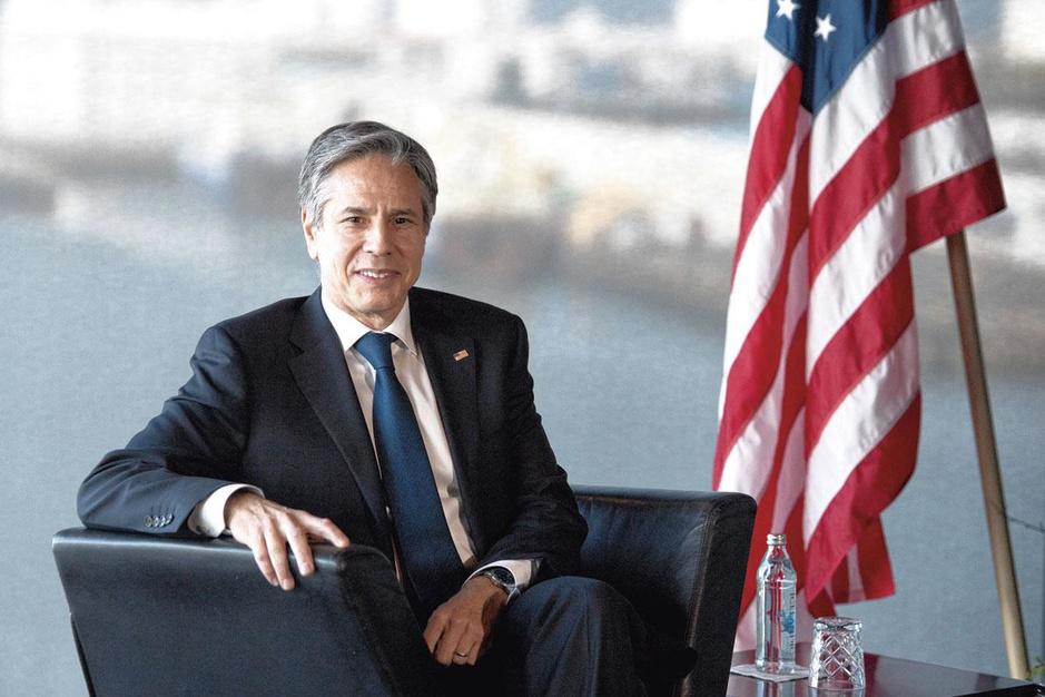 Antony Blinken, buitenlandminister VS: 'Ons doel is niet om China te beteugelen'