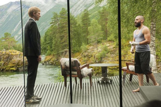 Logeer tussen de fjorden in de Noorse designparel uit 'Ex Machina'