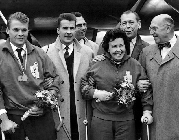 Yvette Alloo, première championne paralympique belge, est décédée
