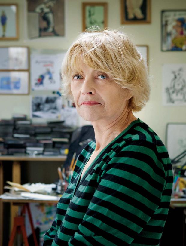 """Claire Bretécher: """"Je suis raisonnablement misanthrope"""""""