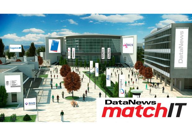 Bezoek vandaag onze virtuele jobbeurs Match IT: geopend van 10 tot 18 uur
