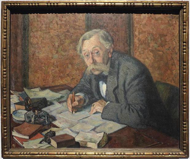 La mort tragique d'Emile Verhaeren le 27 novembre 1916