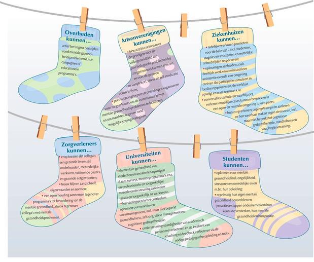 Daar zijn de kleurrijke sokken weer