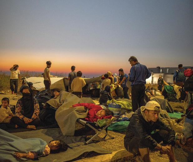 Migration: le camp de Moria ou l'impuissance européenne