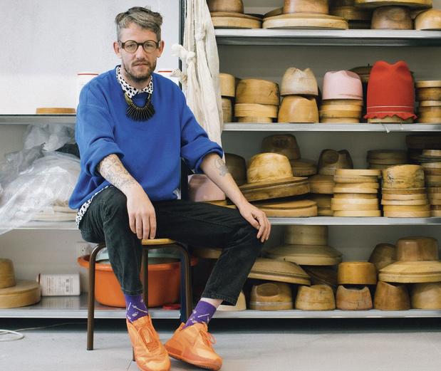 De knallende comeback van ontwerper Tom Van der Borght: 'Het klassieke pad is nooit het mijne geweest'