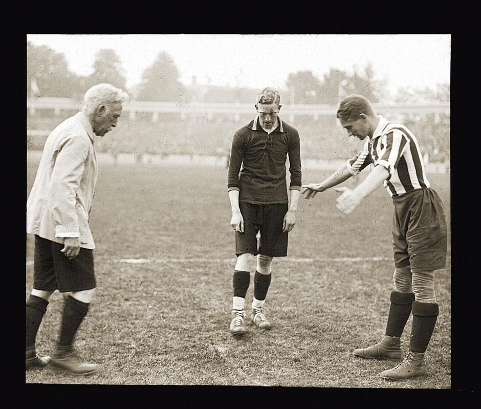 100 jaar Spelen van Antwerpen: België wereldkampioen voetbal!