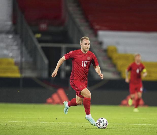 """Eriksen et le Danemark sont chauds: """"C'est la meilleure équipe nationale pour laquelle j'ai joué"""""""
