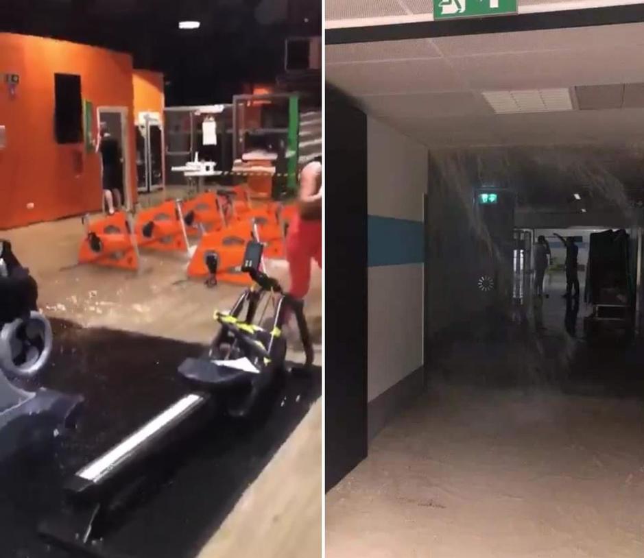 Kortrijks ziekenhuis onder water na wolkbreuk: opnames en consultaties niet in gevaar
