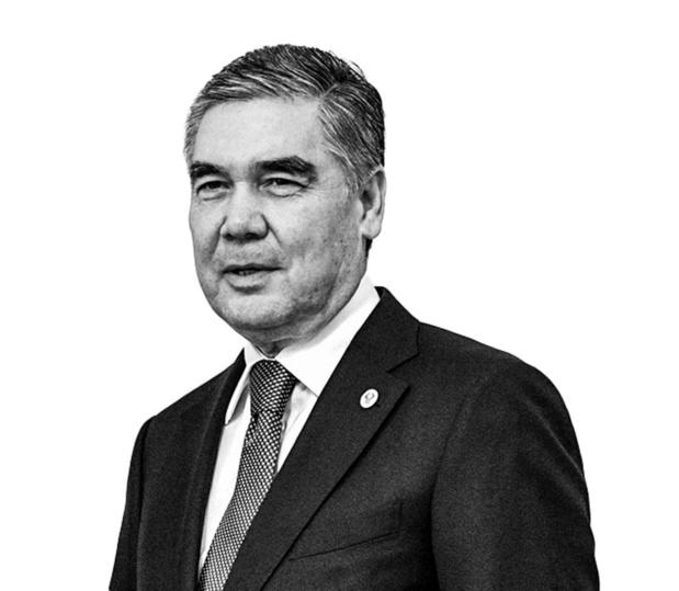Gurbanguly Berdymukhamedov - President kiest voor gouden hond
