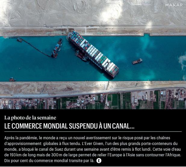Le commerce mondial suspendu à un canal...