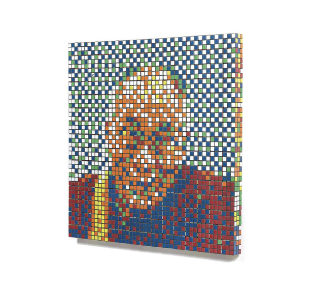 Le dalaï-lama et le Rubik's Cube