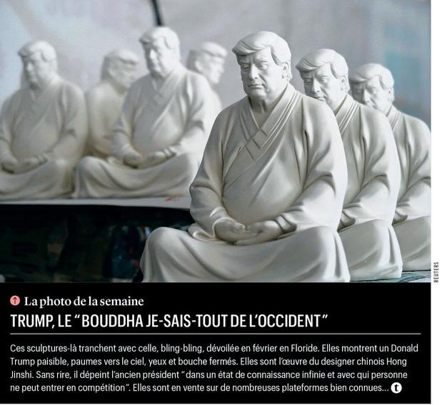 """Trump, le """"Bouddha je-sais-tout de l'Occident"""""""