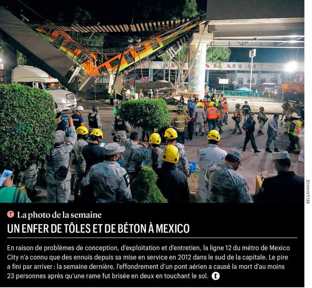 Un enfer de tôles et de béton à Mexico