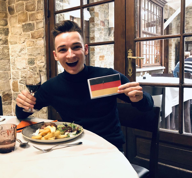 Thomas Julian maakt op vrijdag 24 juli zijn debuut in Duitsland, Oostenrijk, Zwitserland en... België