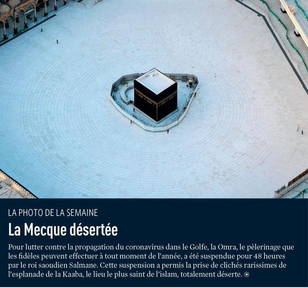 La Mecque désertée