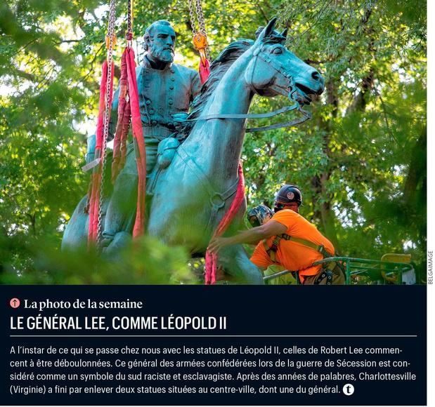 Le général Lee, comme Léopold II