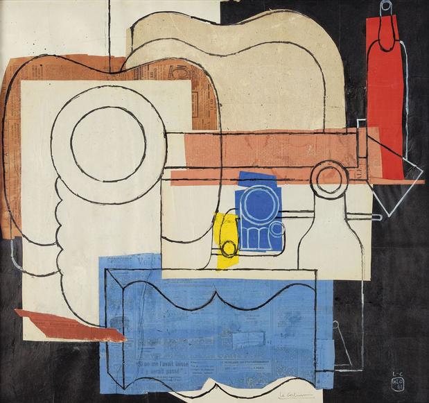 Corbusier in de verf