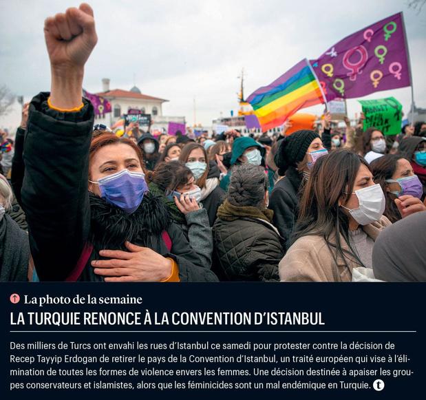 La Turquie renonce à la Convention d'Istanbul