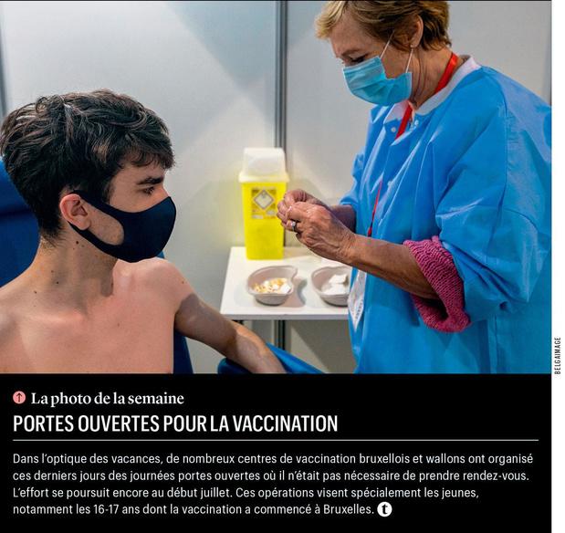 Portes ouvertes pour la vaccination