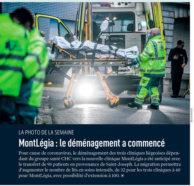 MontLégia : le déménagement a commencé