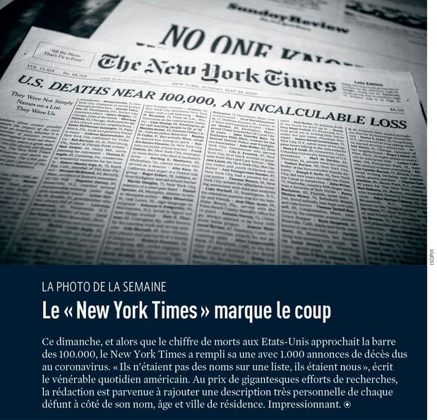 "Le "" New York Times "" marque le coup"