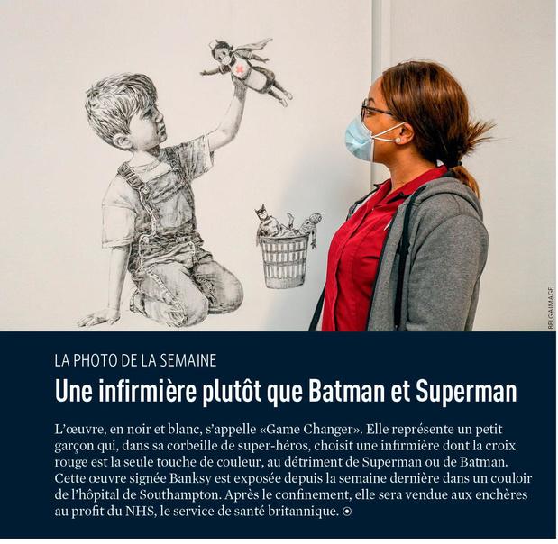 Une infirmière plutôt que Batman et Superman