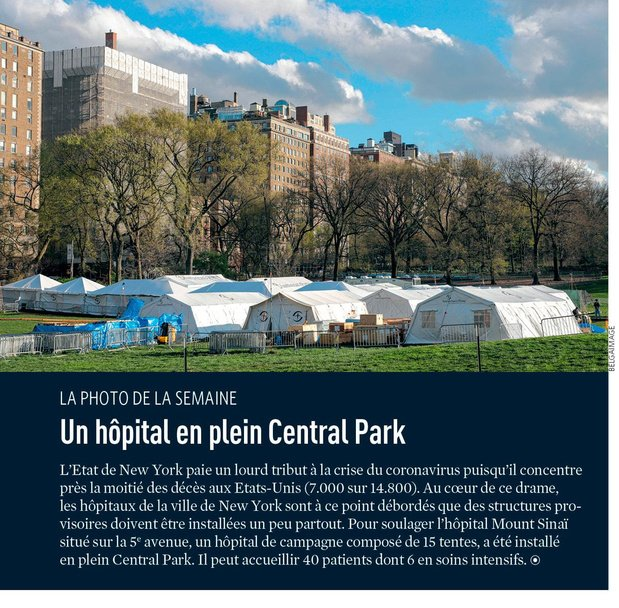 Un hôpital en plein Central Park