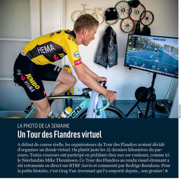Un Tour des Flandres virtuel
