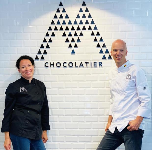 Chocolatier M weer in de prijzen met pralines