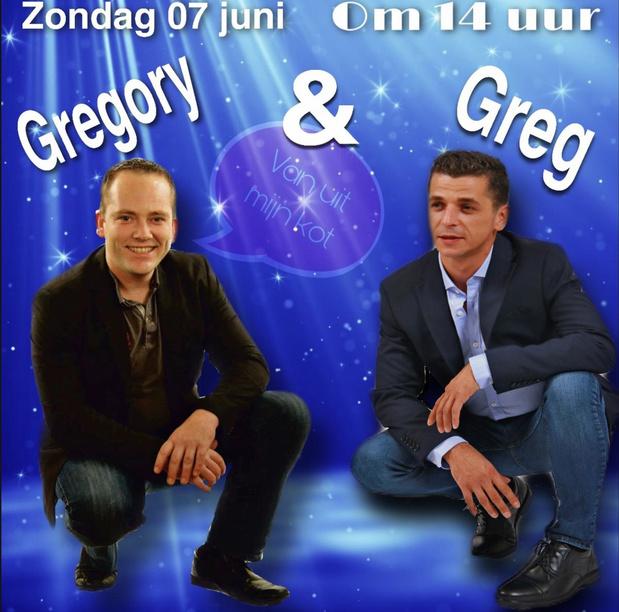 Greg gaat laatste keren live vanuit 'één of ander kot' in West-Vlaanderen