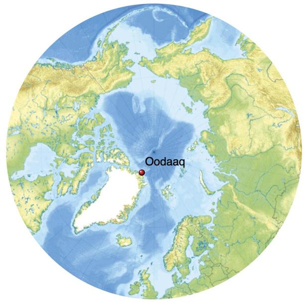 L'île la plus au nord du monde