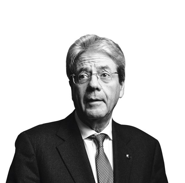 Europees commissaris voor Economie Paolo Gentiloni