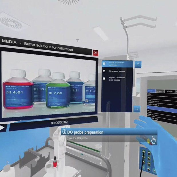 La réalité virtuelle accélère la production du vaccin contre le Covid-19