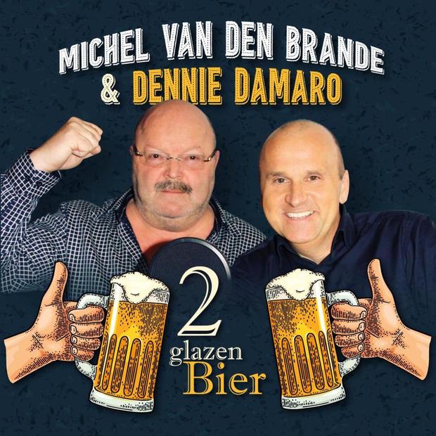 """Michel Van den Brande en Dennie Damaro namen clip van """"2 Glazen Bier' op in Blankenberge"""