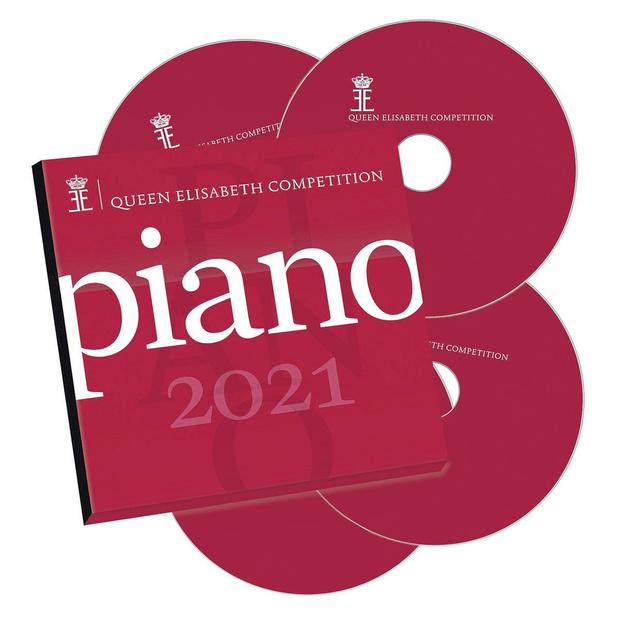 Coffret 4 CD du Concours Reine Elisabeth de Piano 2021