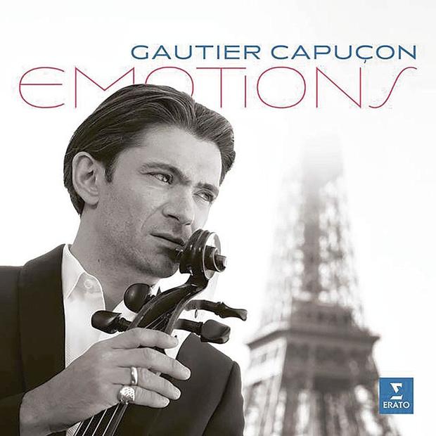 Dubbel-cd Emotions van Gautier Capuçon
