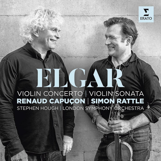 Elgars Vioolconcerto/Vioolsonata door Renaud Capuçon en het London Symphony Orchestra onder leiding van Simon Rattle