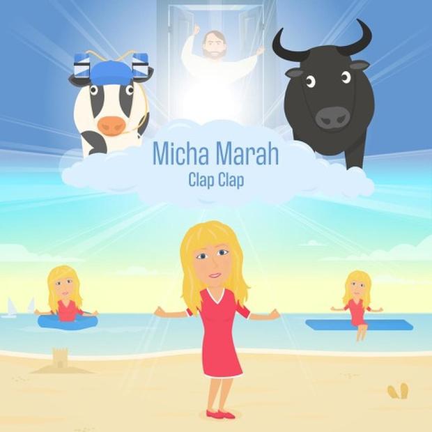 Micha Marah zingt happy song 'Clap Clap'