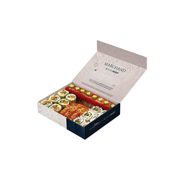 La box Grégory Marchand pour Sushi Shop