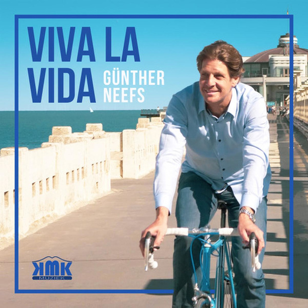 Günther Neefs staat in Vlaamse Ultratop op elfde plaats met 'Viva la Vida'