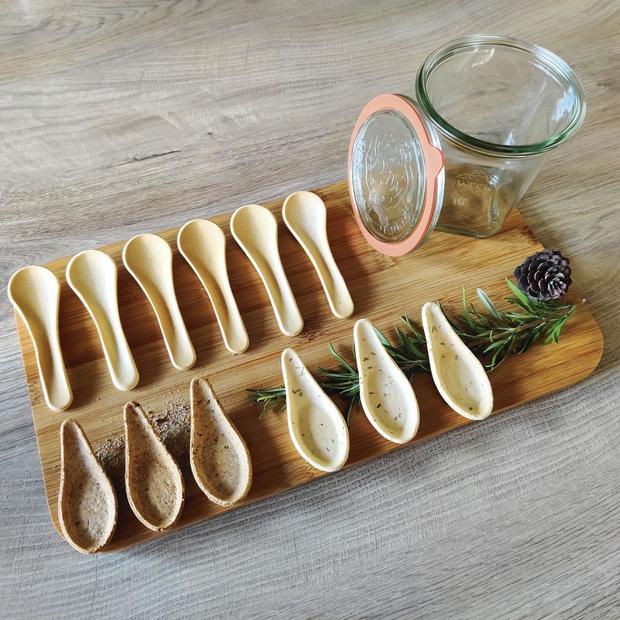 """Dossier """"Zéro déchet"""": Ecopoon, une cuillière 100% belge, comestible, gustative et durable"""