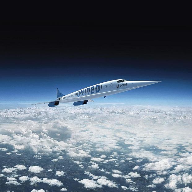 United croit en l'avion supersonique