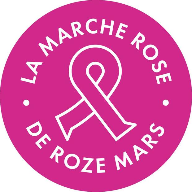 Comptez vos pas pour La Marche Rose