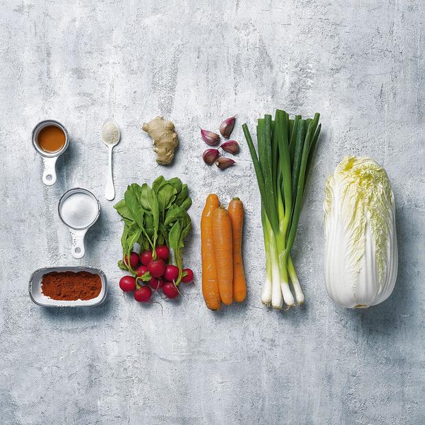 Pittige kimchi